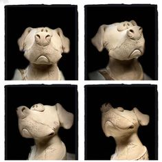Animal Sculptures, Lion Sculpture, Vand, Handmade Ceramic, Animals And Pets, Creatures, Pottery, Clay, Statue