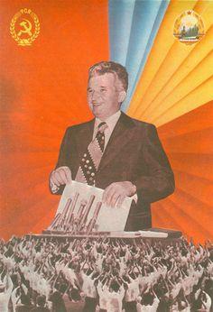 Ceausescu - Cultul Personalitatii