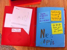 Les ateliers d'écriture au primaire ; selon les genres littéraires https://atelierecritureprimaire.wordpress.com/ (pochette d'écriture)
