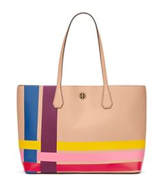 Tory Burch Perry Multi-color Tote