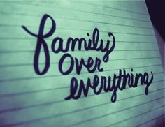 Our family is so strong!! We stick together and have each others back no matter what!! Some might want to take lessons!
