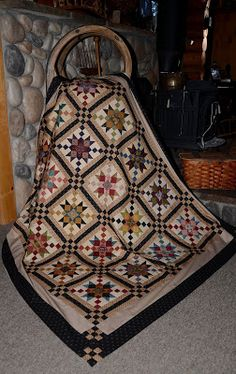 Sew'n Wild Oaks Quilting Blog: Country Charmer Check-In