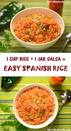 Spanish Rice with Salsa Recipe