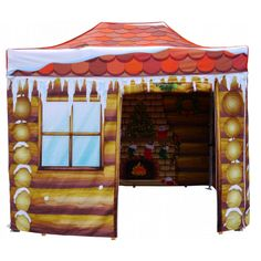 Order your very own Santa's Grotto Pop up Gazebo by Gazeboshop - perfect for event organisers this Christmas! Christmas Grotto Ideas, Christmas Fair Ideas, Christmas Party Decorations, All Things Christmas, Christmas 2019, Xmas, Diy Gazebo, Secret Rooms, Family Events