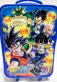 Dragon Ball Z Kai Trolley Case Carry on Bag Wheeled JAPAN ANIME MANGA
