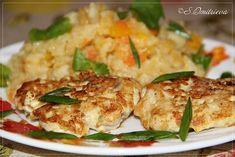 Рубленный куриный шницель с овощным пюре. | Кулинарные Рецепты Chicken Tenderloins, Meat, Food, Meals, Yemek, Eten, Boneless Chicken