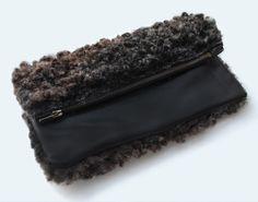 sheepskin + leather