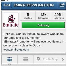 Thousands fall for fake Emirates Instagram competition