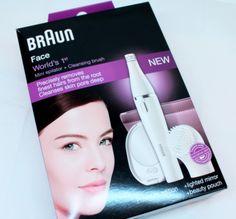 Epilateur et brosse visage - kit Face BRAUN (mon test) - Beauté Blog Chic
