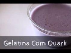01. Gelatina Com Queijo Quark Jelly With Quark Cheese