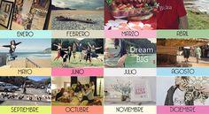 12 fotos. 12 canciones. Resumen de un año.