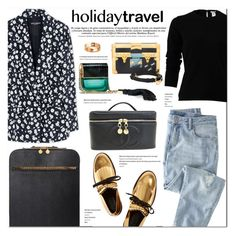 """""""Travel in Style"""" by stellaasteria ❤ liked on Polyvore featuring Wrap, Marni, Dolce&Gabbana, Oscar de la Renta, Louis Vuitton, STELLA McCARTNEY, Chanel, Marc Jacobs and Cartier"""