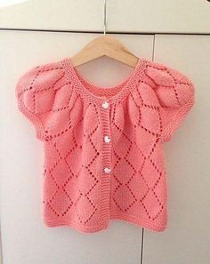 Ravelry: Project Gallery for Silver Cardigan pattern by Kristiina Temin Poncho Knitting Patterns, Cardigan Pattern, Knitted Poncho, Baby Knitting, Crochet Patterns, Yarn Needle, Buttonholes, Polka Dot Top, Overalls