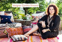 Get the Look: Cynthia Vincent's Backyard Movie Night