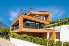 Villa in legno e casa di design casa prefabbricata in for Bauhaus case in legno