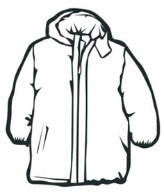 Rain Coat For Girl Coloring Page Winter Coloring Page