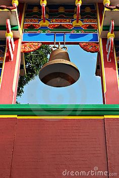 Chinese Temple Bell