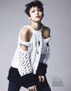 """""""Fugas"""" suéter / suéter / fashion sitio elegante ropa y alteraciones interiores"""