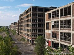 To Be Considered: The Remains of Detroit's Packard Motor Car Company | Abandoned America