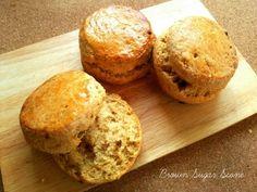 黒糖スコーン Sweets Recipes, Bread Recipes, Desserts, Scones, Biscuits, Bakery, Muffin, Food And Drink, Meals