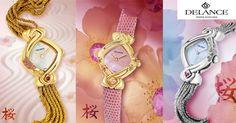Delance presenta Sakura, su más reciente colección de relojes