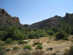 Malibu Creek State Park (former movie ranch used as M.A.S.H. filming location) - Malibu, California, USA