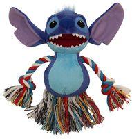 WD1016 Мягкая игрушка с канатом Stitch, 150 мм / Зоо Товары для собак / Игрушки для собак / Тканевые и плюшевые игрушки / Интернет Магазин Зоотоваров Зоо Идея