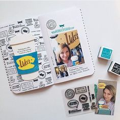 WEBSTA @ kellypurkeyshop - The kellypurkeyshop.com update is live with this little Gilmore Girls stamp set   other fun products! They're going fast, hope you'll come check it out. : @babz510