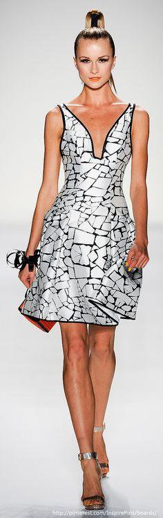 Joanna Mastroianni at New York Fashion Week Spring 2014