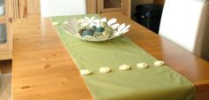 Table runner designer fabric with lining 72 X 17 by CreationsNikki, $45.00 Table Dressing, Tree Skirts, Table Runners, Fabric Design, Christmas Tree, Holiday Decor, Home Decor, Teal Christmas Tree, Decoration Home