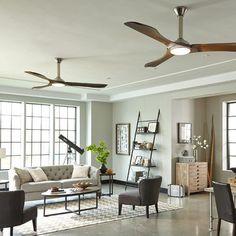 Minimalist Max Ceiling Fan from Monte Carlo Fan Company   YLighting
