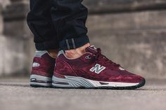 New Balance 991 Made in England (Burgundy)