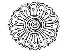 Simple mandala designs to draw dot coloring pages awesome home Mandalas Drawing, Mandala Coloring Pages, Mandala Painting, Dot Painting, Colouring Pages, Coloring Books, Mandala Pattern, Zentangle Patterns, Zentangles