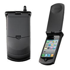 iPhoneを束の間ガラケーにしてくれるケース