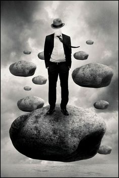 The observer, when he seems to himself to be observing a stone, is really, if physics is to be believed, observing the effects of the stone upon himself. ~ Bertrand Russell ~
