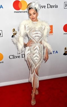 e0cdb8d67fd All the Looks You Didn't See (but Can't Miss) From Grammys Weekend. Chloe  GraceRita OraRed ...