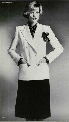 1976 - Yves Saint Laurent Couture suit