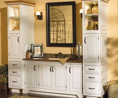 Bathroom Cabinets White Designs - http://www.housefashions.net/bathroom-cabinets-white-designs/