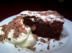 Flourless Chocolate Almond Cake - I JUST made this.... it is AWESOME!! like a fudge cake. I put the liquid coffee, and left out the granules. I added extra cocoa powder. YUM tastes JUST like the one from Whole Foods!