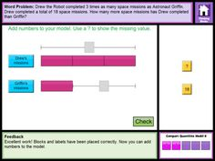 Thinking Blocks Multiplication/Division teaches children how to model and solve word problems with the Singapore Bar Model Method. The website has been available for almost 10 years, now in an easy to use ipad format.  Opinion?  Best bar model app out there. And they're free.