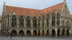 LATE GOTHIC, Germany - Braunschweig Town Hall, C. 1302.