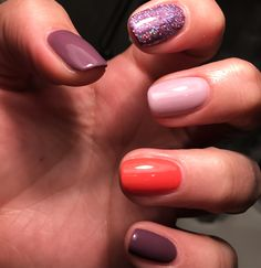 Natural nails using Ibd by me Caz x