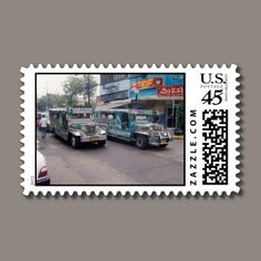 Jeepney stamps by ccrcats.