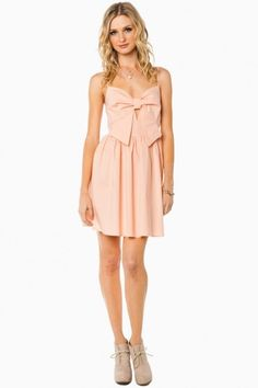 Bows and things dress in blush #summer #dresses