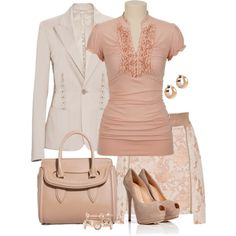 Soft Colors for Spring by yasminasdream on Polyvore