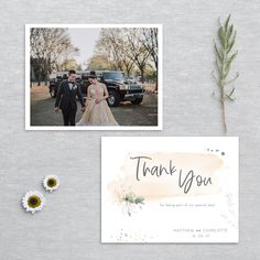 Printable Thank You Cards, Thank You Card Template, Wedding Stationery, Wedding Invitations, Watercolor Design, Printing Services, Colorful Backgrounds, Greenery, Your Design