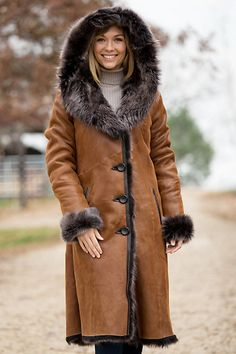 Women's Renata Toscana Sheepskin Coat… | Shearling | Pinterest ...
