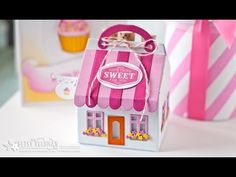 Papertrey Ink NEW Product Introduction: Tiny Town Sweet Shoppe Dies - YouTube