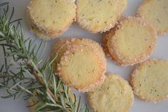 Martha Stewart rosemary butter cookies change salt to 1 tsp