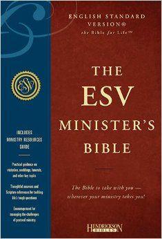 Minister's Bible-ESV: Hendrickson Publishers: 9781598563801: Amazon.com: Books
